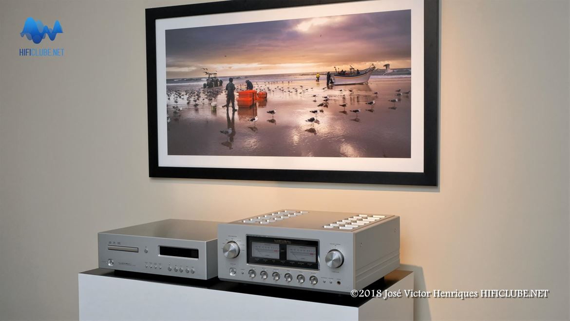 Ultimate Audio - Porto - Luxman CD D-06u Ultimate e Integrated L-509X