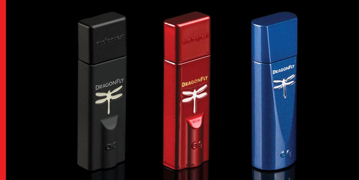 Dragonfly Black, Red e Cobalt