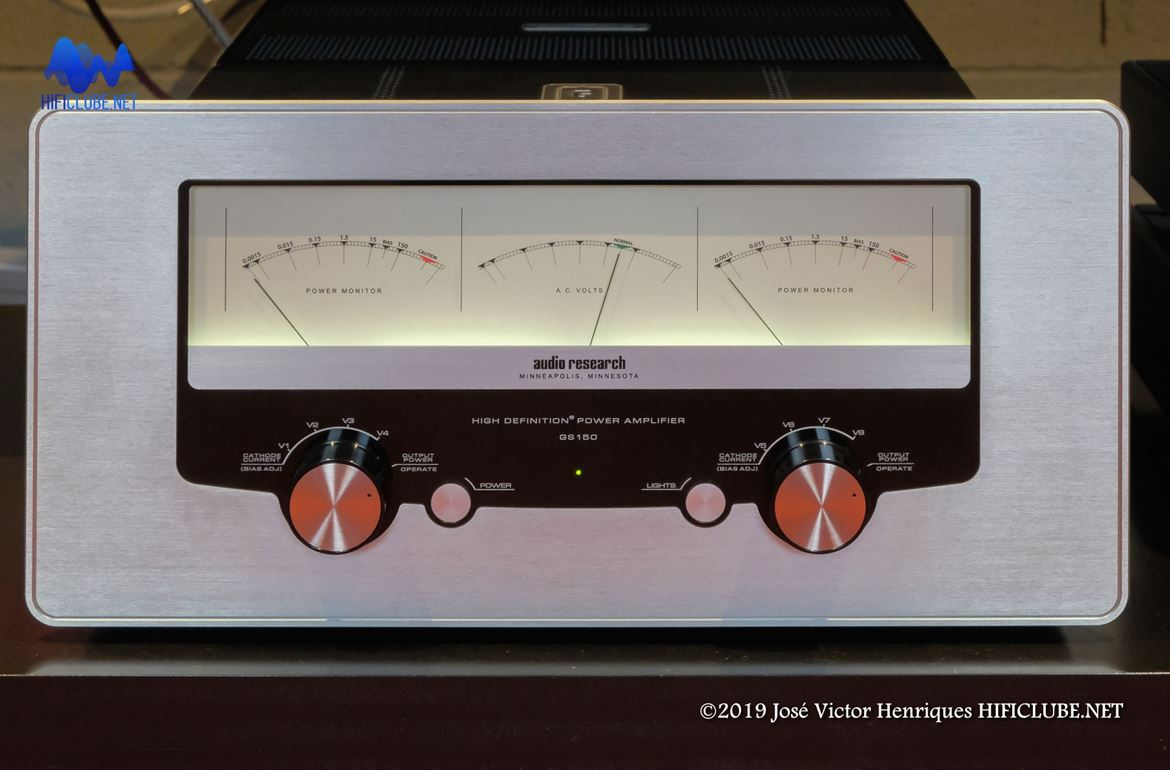 Audio Research Galileo Series 150 stereo amplifier