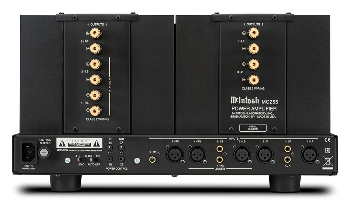 MC255 5-Channel Home Theater Amplifier