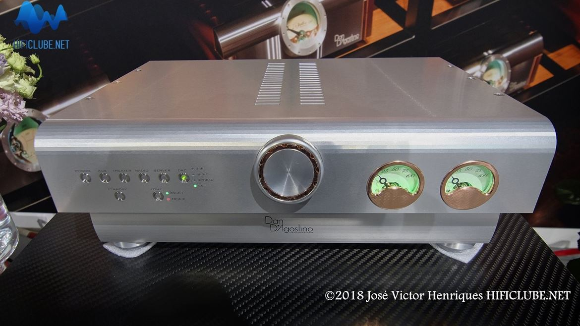 D'Agostino Progression preamplifier (foto obtida no Highend 2018, Munique)