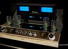 McIntosh MA352 Hybrid Amplifier – into the blue