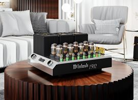 McIntosh Announces MC1502 Vacuum Tube Amplifier and C22 Vacuum Tube Preamplifier Mk V (press release)