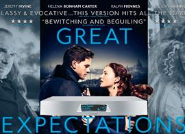 Lumin Network Player: uma grande esperança do áudio digital (poster oficial do filme Great Expectations)
