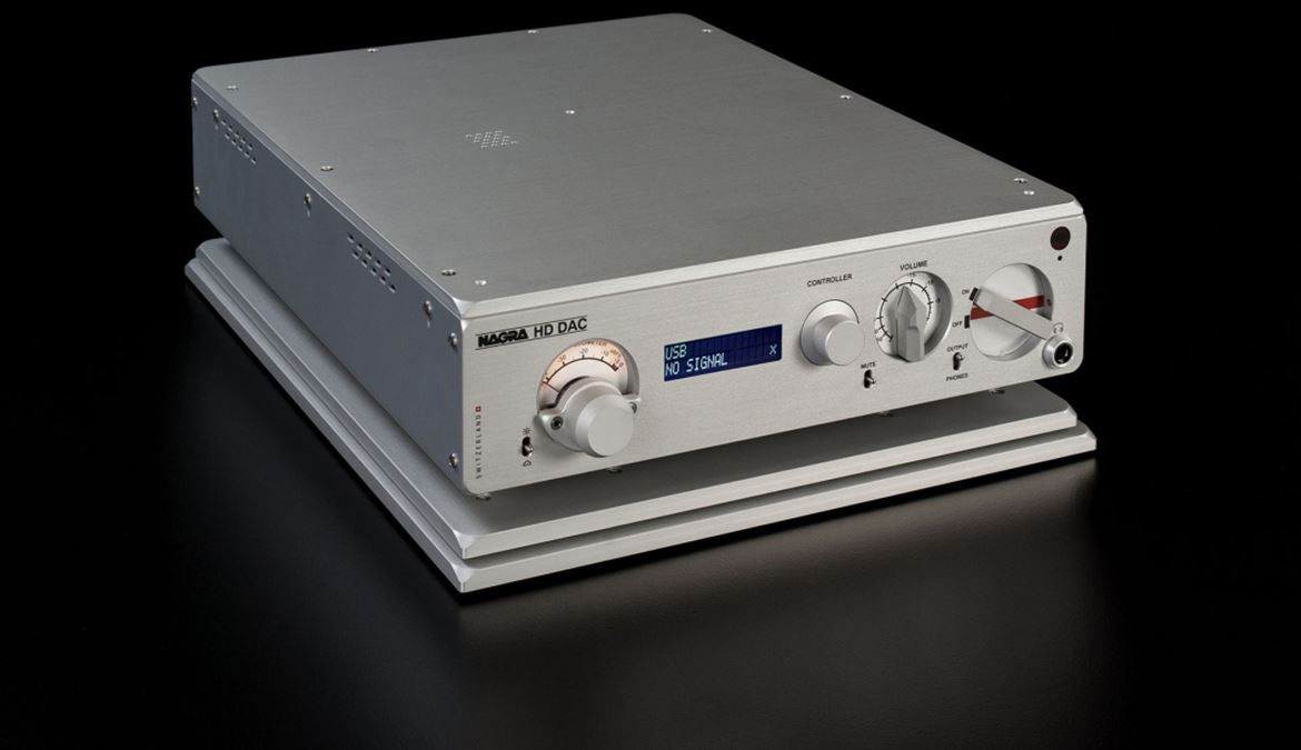 Nagra HD DAC: assalto ao forte do estado da arte