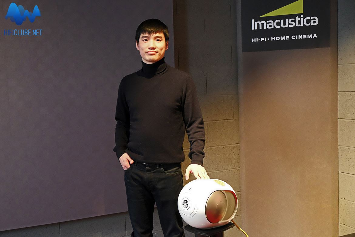 Yaohan Yang, area sales and marketing manager da Devialet, representa bem a juventude global, que é o público alvo das Phantom