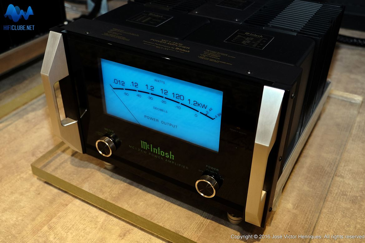 McIntosh: monobloco MC 1.2K