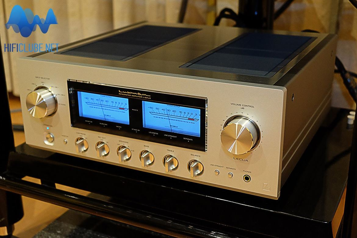 Luxman L 507uX Integrated: Easy On the Ear, Easy On the Eye and Easy On the Soul