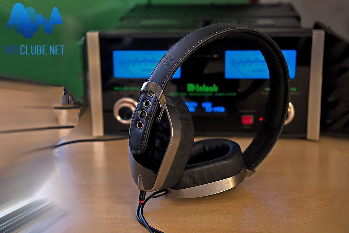Pryma headphones driven by McIntosh MHA-100