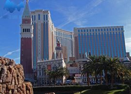 Hotel Venetian, Las Vegas: palco do High Performance Audio