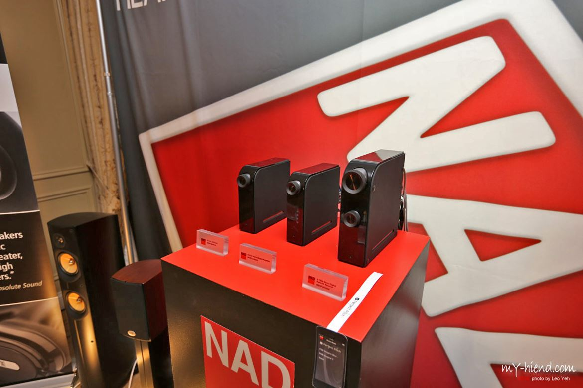 NAD: the new D collection of digital amplifiers and streamers, first shown in Munich