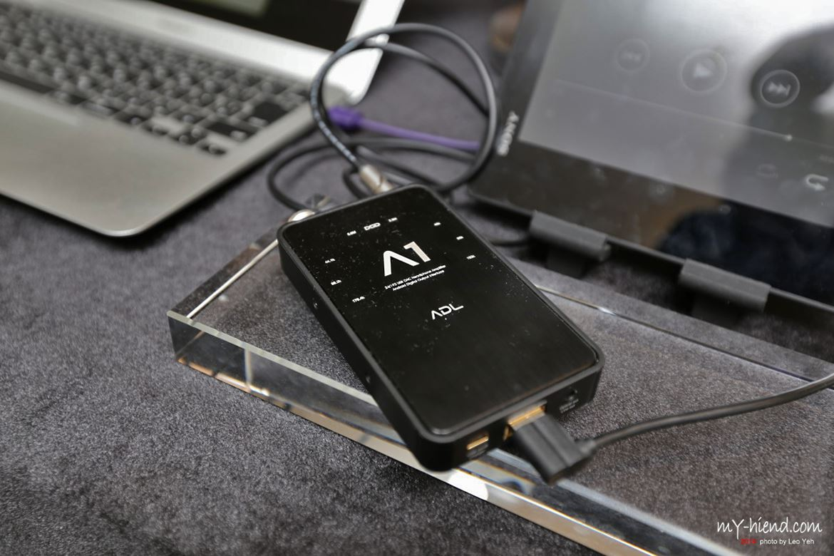 ADL headphone portable DAC of David Chesky's preference to listen to HD Tracks files