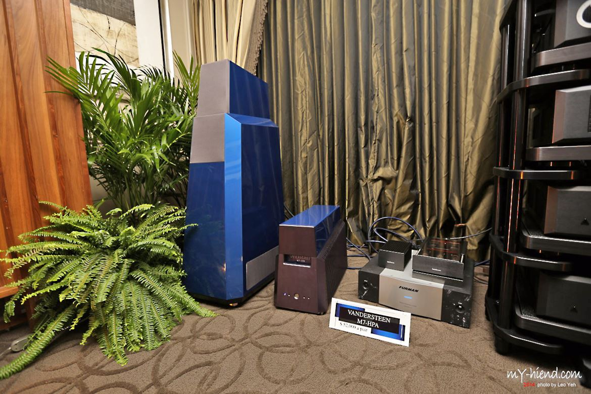 Vandersteen M7HPA, a hot amplifier cooled by liquid!...
