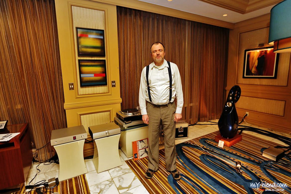 Bruno Putzeys, a master of the digital field with his Mola Mola Class D amplifiers