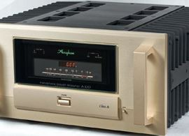 Accuphase mono amplifier A100 - Pure Class A
