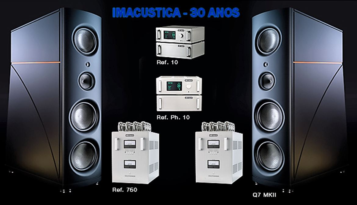 Audio Research - Magico, born in USA