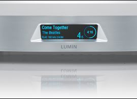 Lumin - Audiophile Network Music Player (caras)