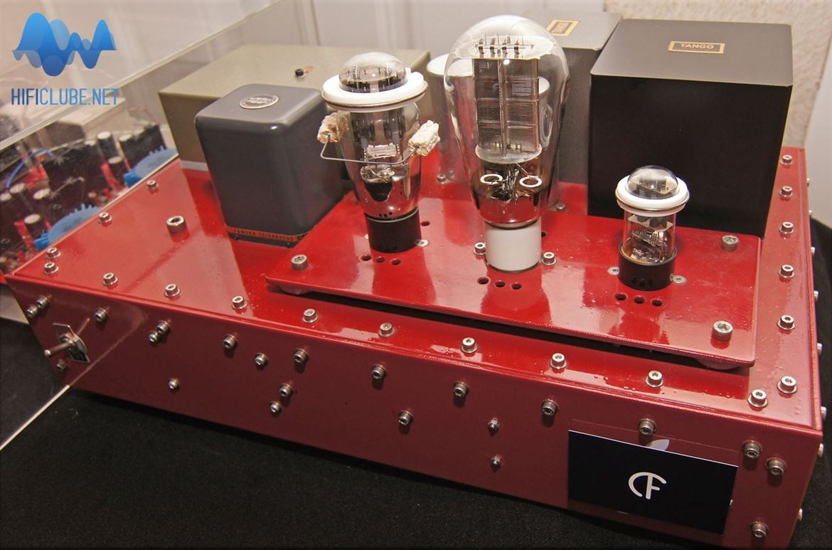João Bernarda's Red Amp, a masterpiece da Chocolate Tube Factory
