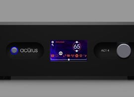 Acurus' ACT 4 preamplifier/processor