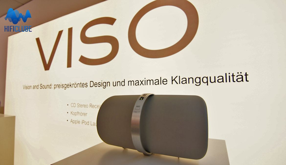 Highend 2013: Nad Viso 1 smart streaming dock para iPod