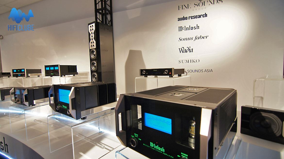 Highend 2013: McIntosh, a lot of blue power