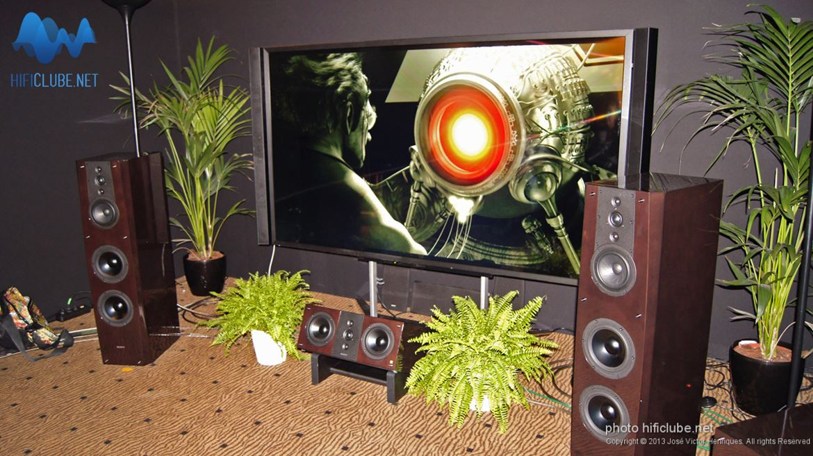 Sony: som de cinema com colunas highend