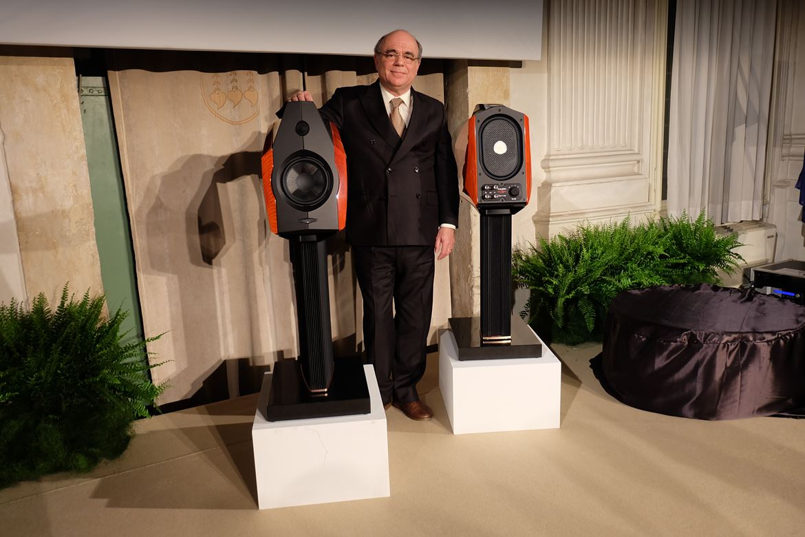 JVH and the new Sonus Faber Extrema
