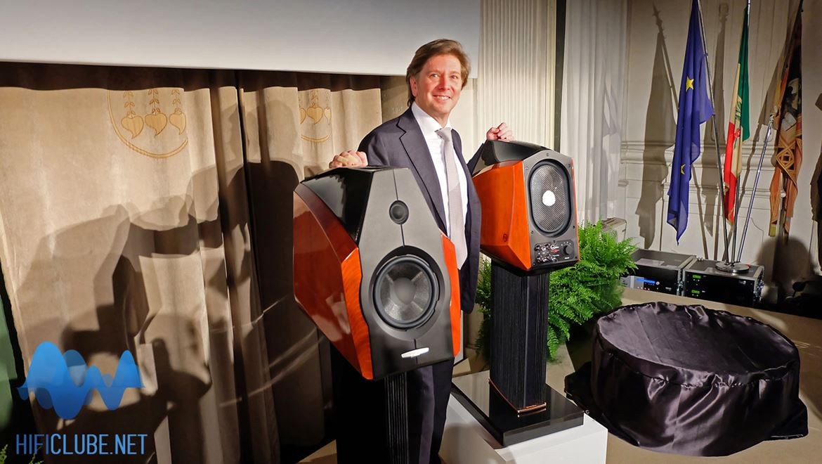 Dr. Mauro Grange, the smiling face behind the wheel of Sonus Faber fortune