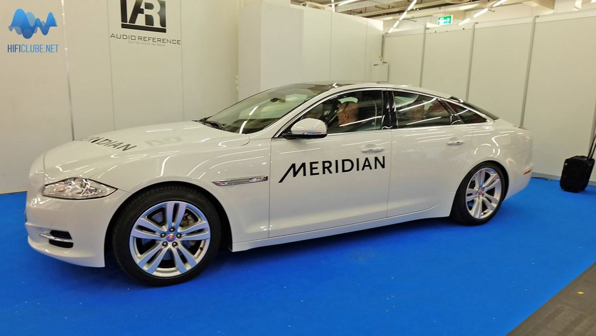 Meridian car audio. Is it the system that comes with the car, or the car that comes with the system? I want them both, please!