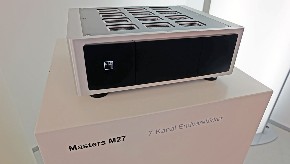 NAD M27 amplificador direct digital multicanal (7 ch)