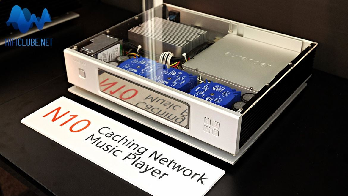 Aurender N10: caching network music player