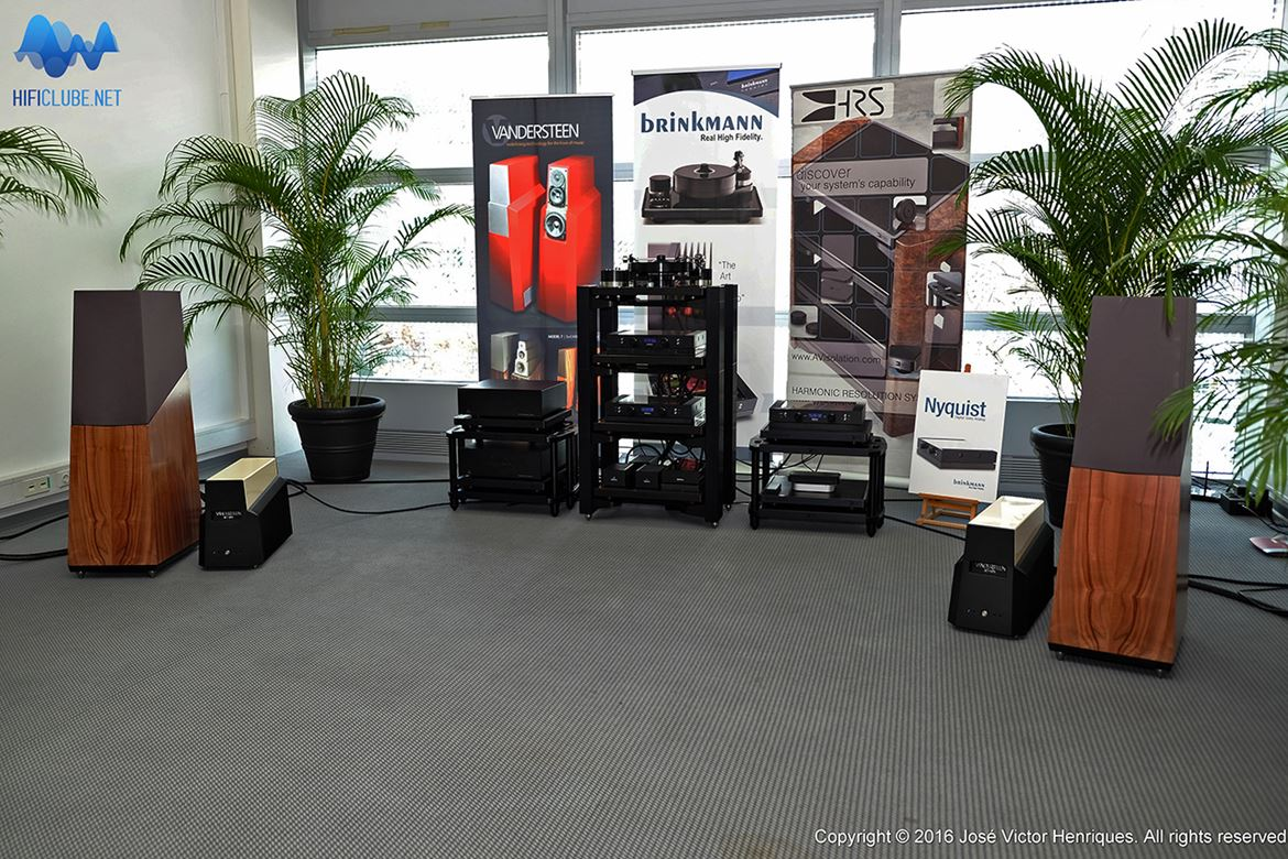 Brinkmann-Vandersteen room, the MQA venue