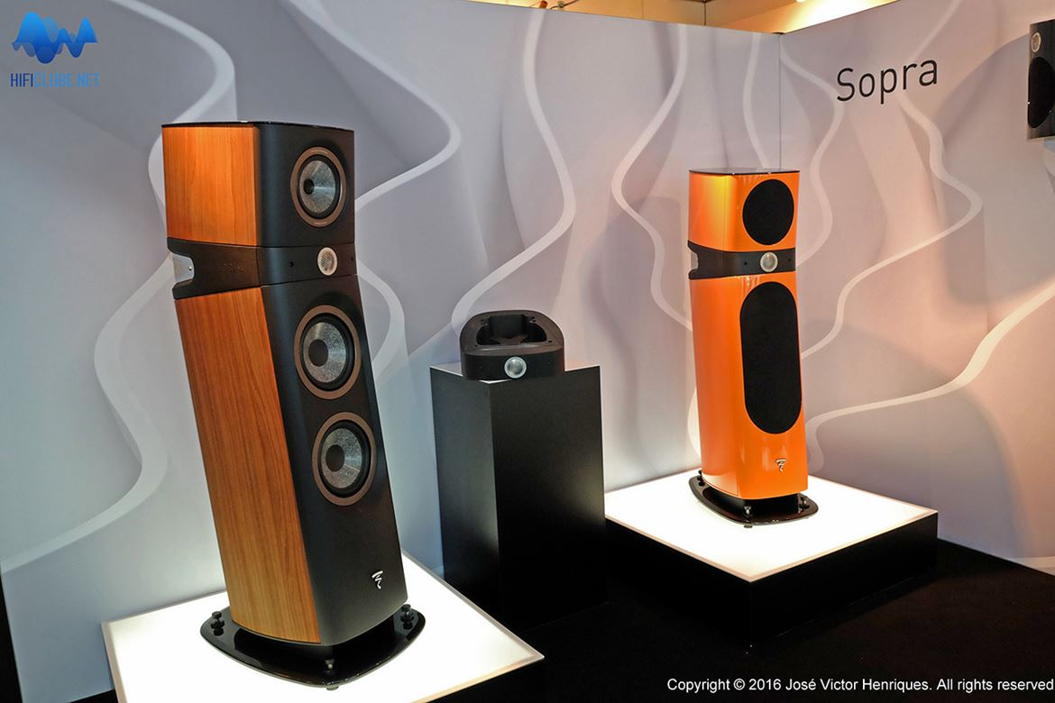 Focal Sopra 3 and 2 side by side
