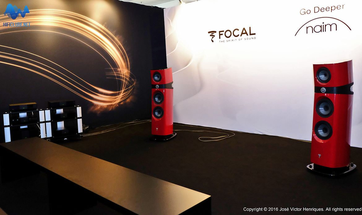 Focal Sopra 3 demo at the MOC
