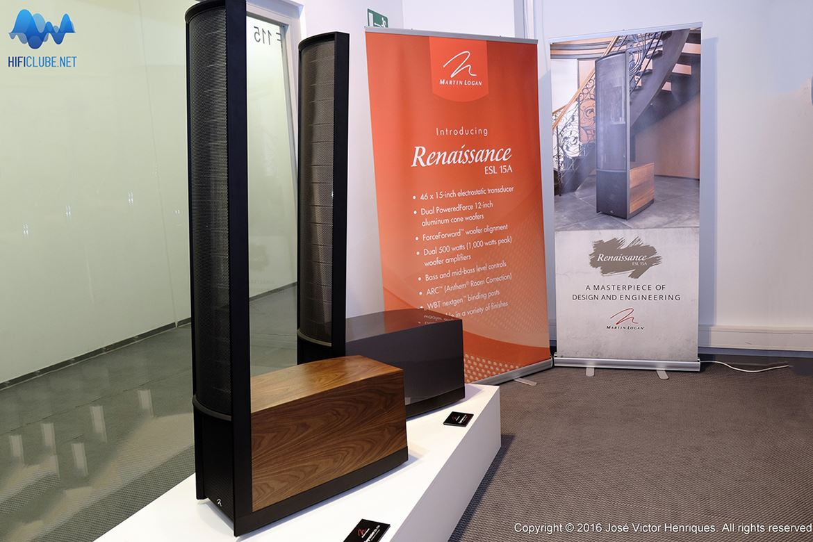 Martin Logan Impression and Expression