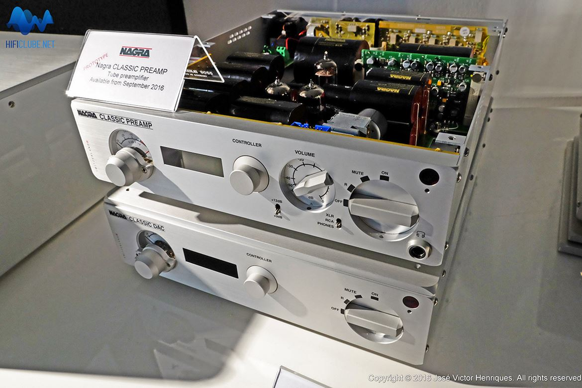 Nagra Classic Pre on top of the Classic DAC