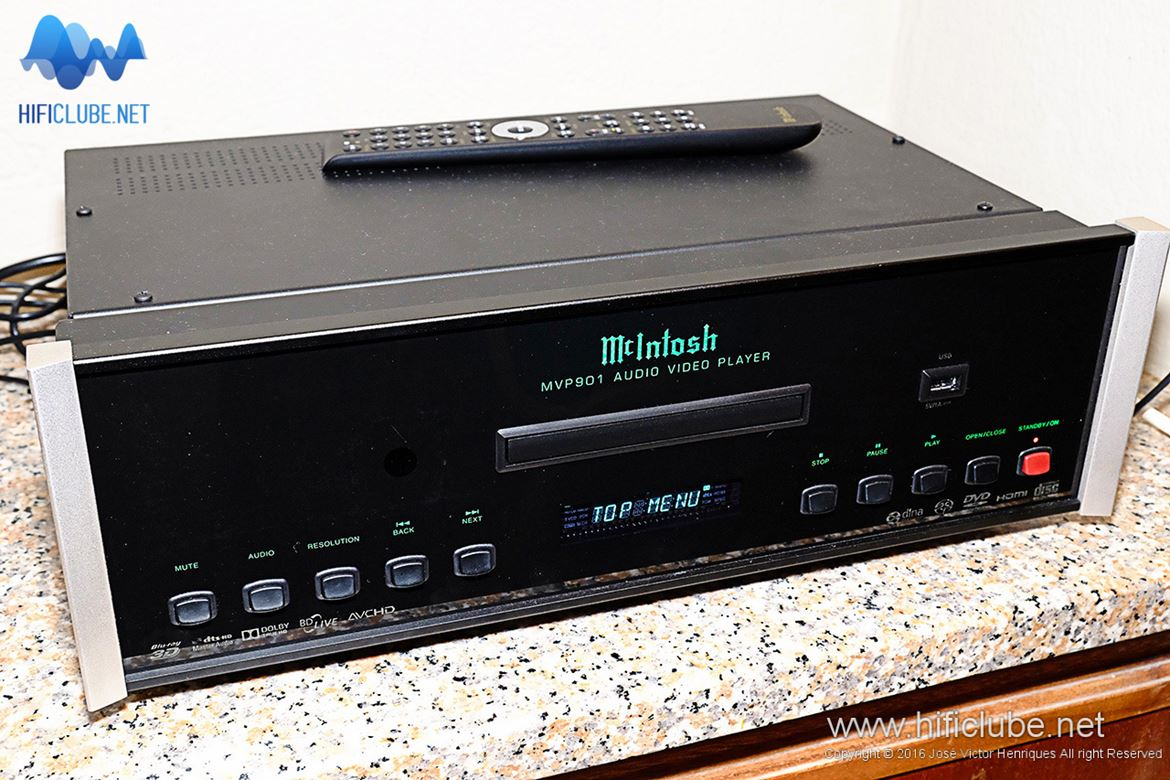 WOM 2016 - McIntosh MVP901 audio/video player