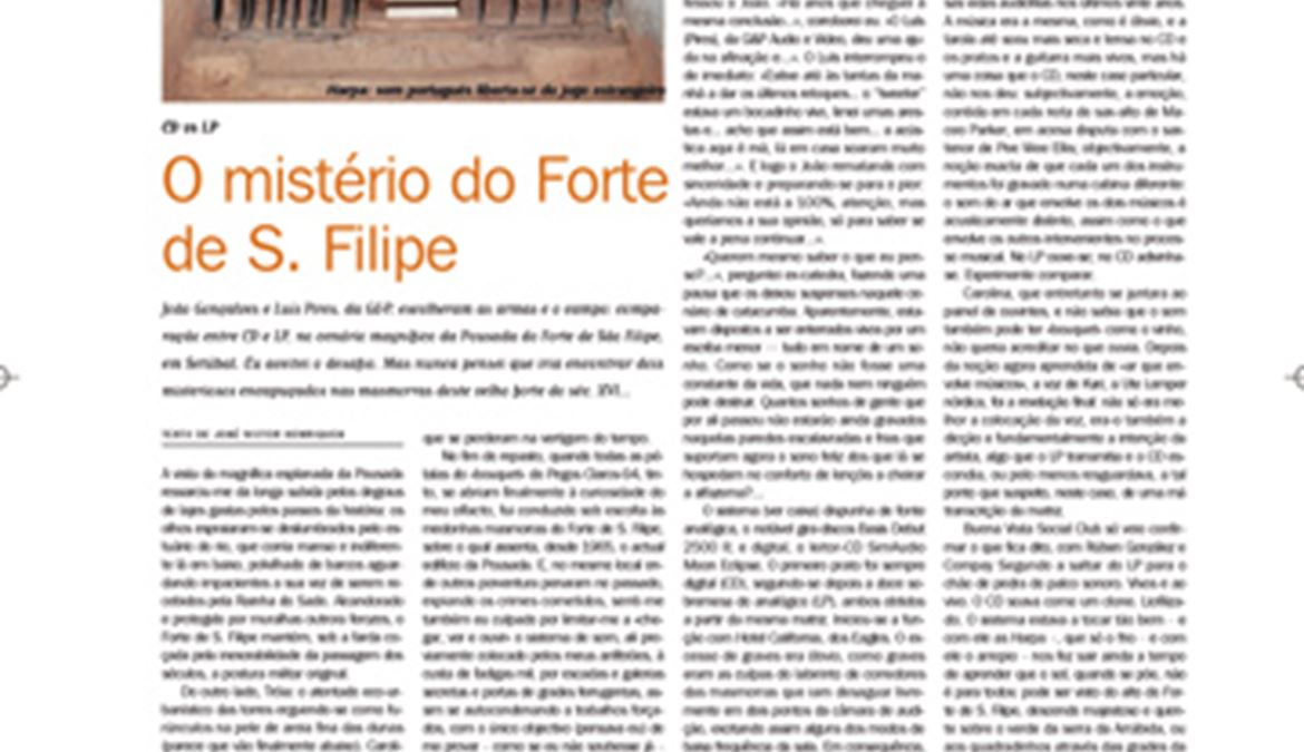 O Mistério Do Forte De S.filipe