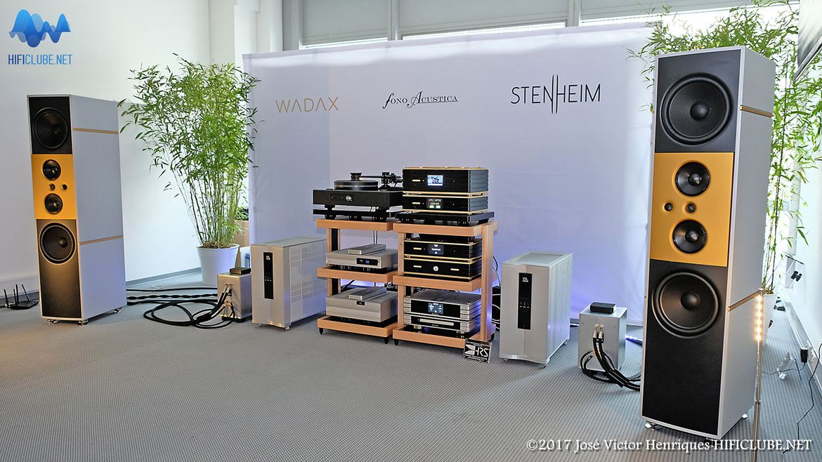 Stenheim Reference Ultimate Passive and VTL. Great sound.