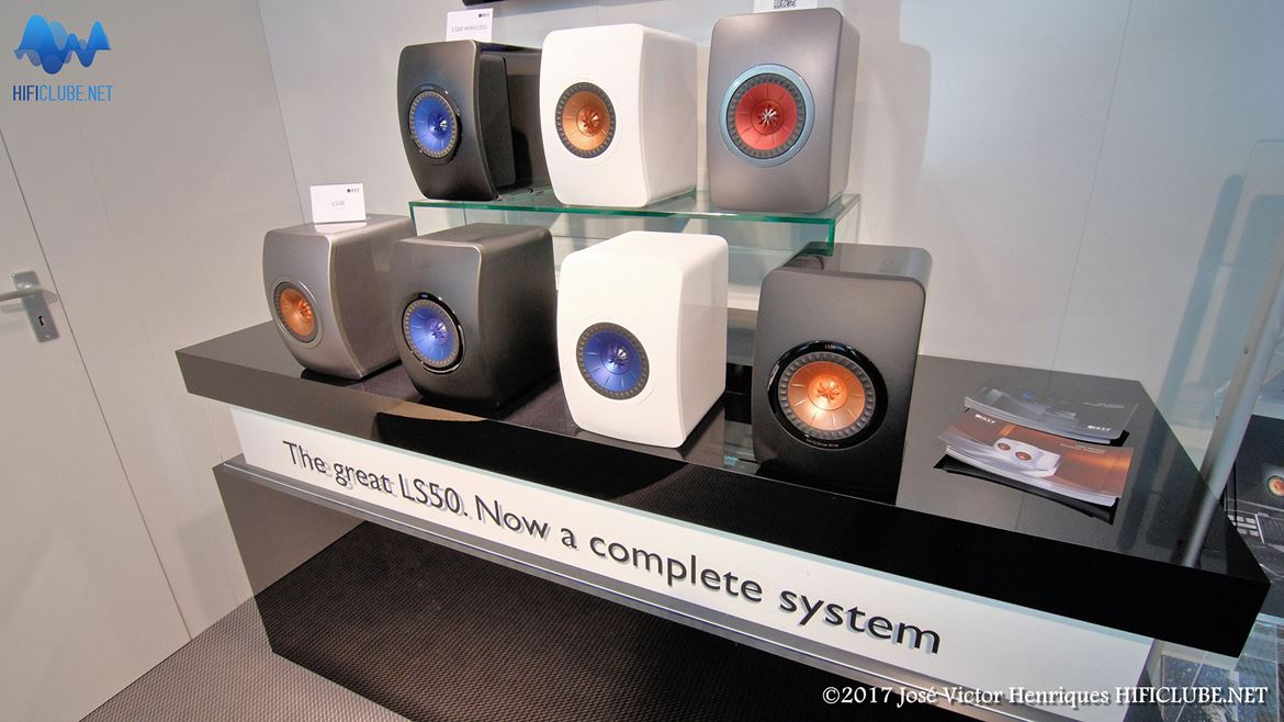 KEF LS50 Wireless, just add a smartphone and you have a system