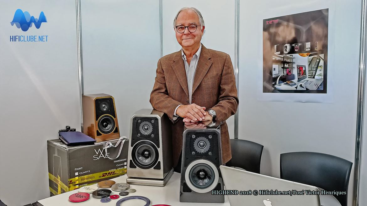 Peter McGrath, o embaixador da Wilson Audio no mundo, apresenta as monitoras Tune TOT