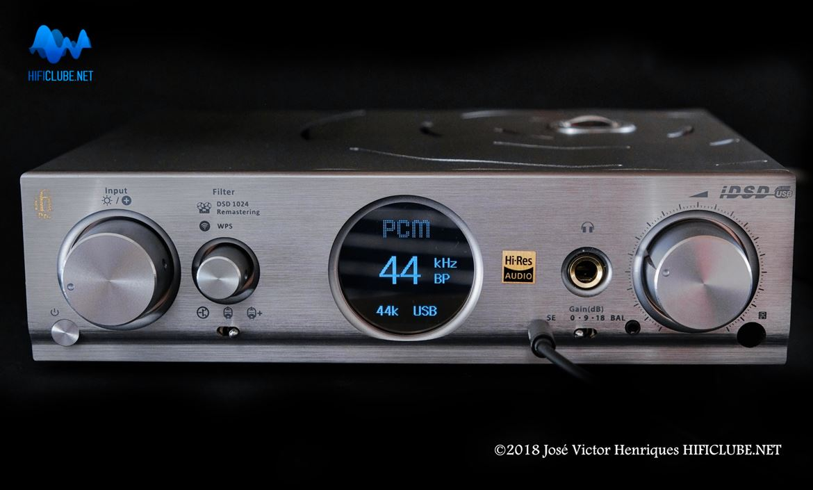 PCM original a 44kHz Bit Perfect (sem filtragem digital)